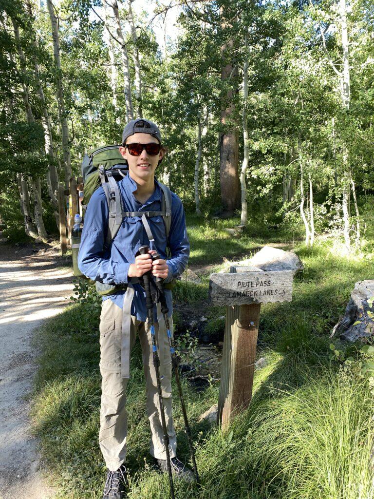 Piute Pass Trail Head