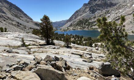 Day 1 – North Lake to French Canyon – hard start, great views