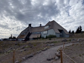 Timberline Lodge to Elk Cove – high winds and rain