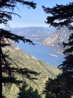 West View of Columbia River Gorge