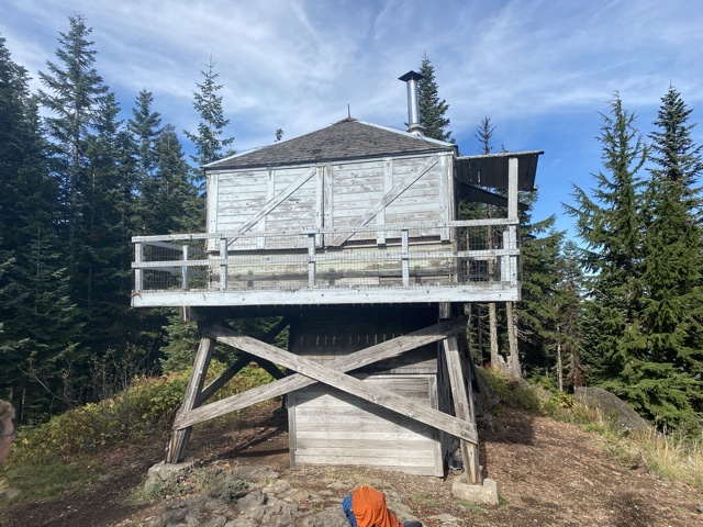 Devil's Peak Lookout – this is a great old Forest Service Lookout
