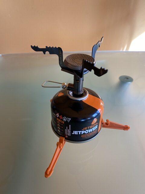Assembled Jetboil Stash