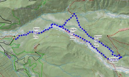 Hikeit Maps – Ramona Falls