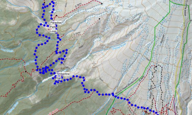 Hikeit Maps – Paradise Park Loop